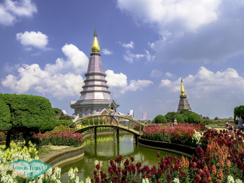 king-and-queen-pagoda-Doi-Inthanon-chiang-mai-thailand-laugh-travel-eat