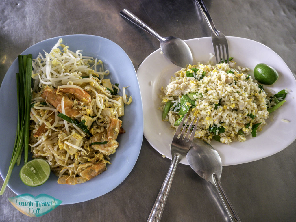 thai-food-dishes-at-tanin-market-at-Chiang-Mai-Thailand-Laugh-Travel-Eat