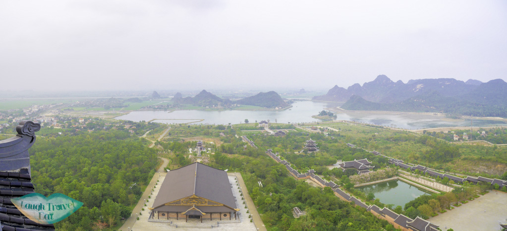 view-from-top-of-ba-dinh-pagoda-ninh-binh-vietnam-Laugh-Travel-Eat
