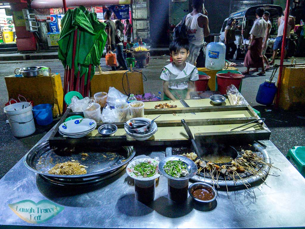 communal-hot-pot-street-food-yangon-myanmar-Laugh-Travel-Eat
