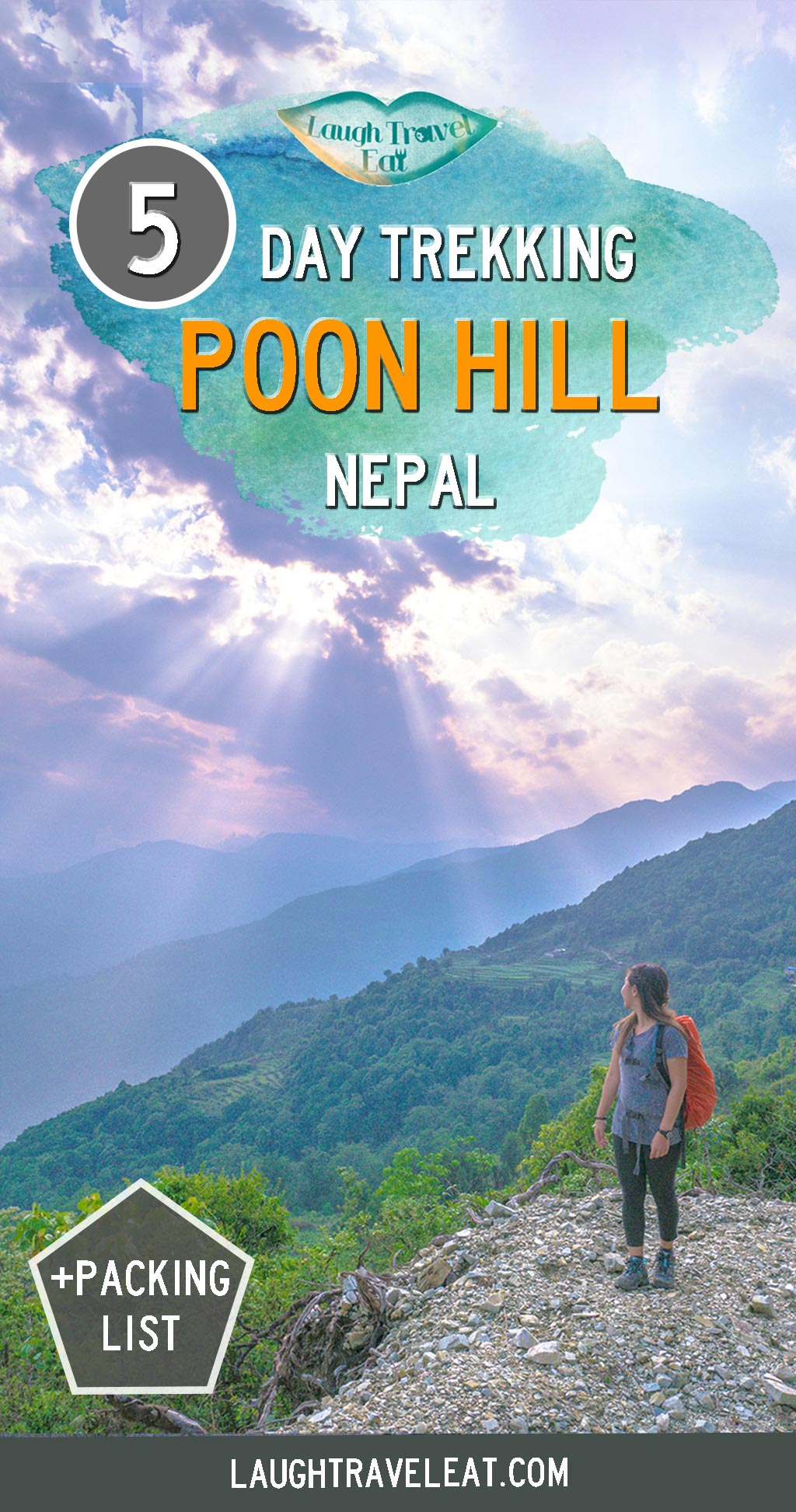 Poon Hill offers a great view of the Annapurna range. It's a 5 day hike perfect for those who are just breaking into trekking in Nepal: #nepal #trekking #poonhill #annapurna