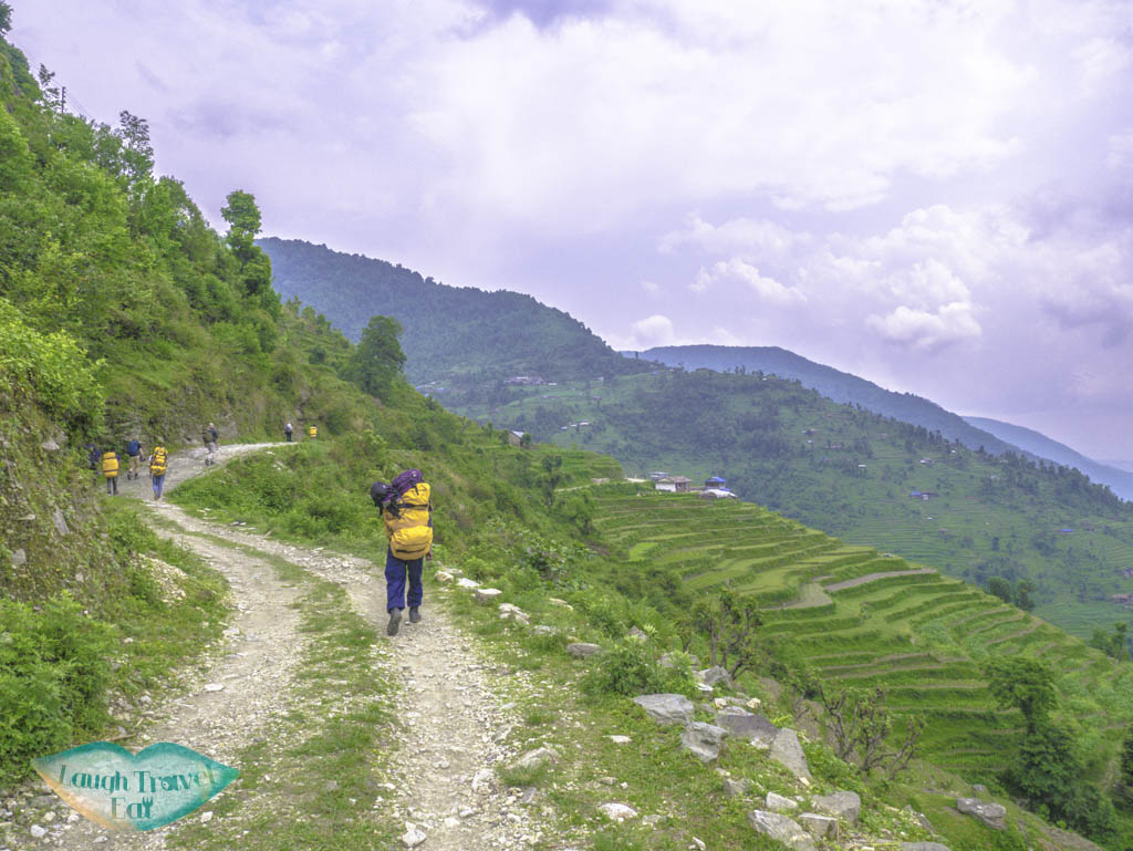 rice-terrace-view-Poon-Hill-Trek-Annapurna-Conservation-Area-Nepal-laugh-travel-eat