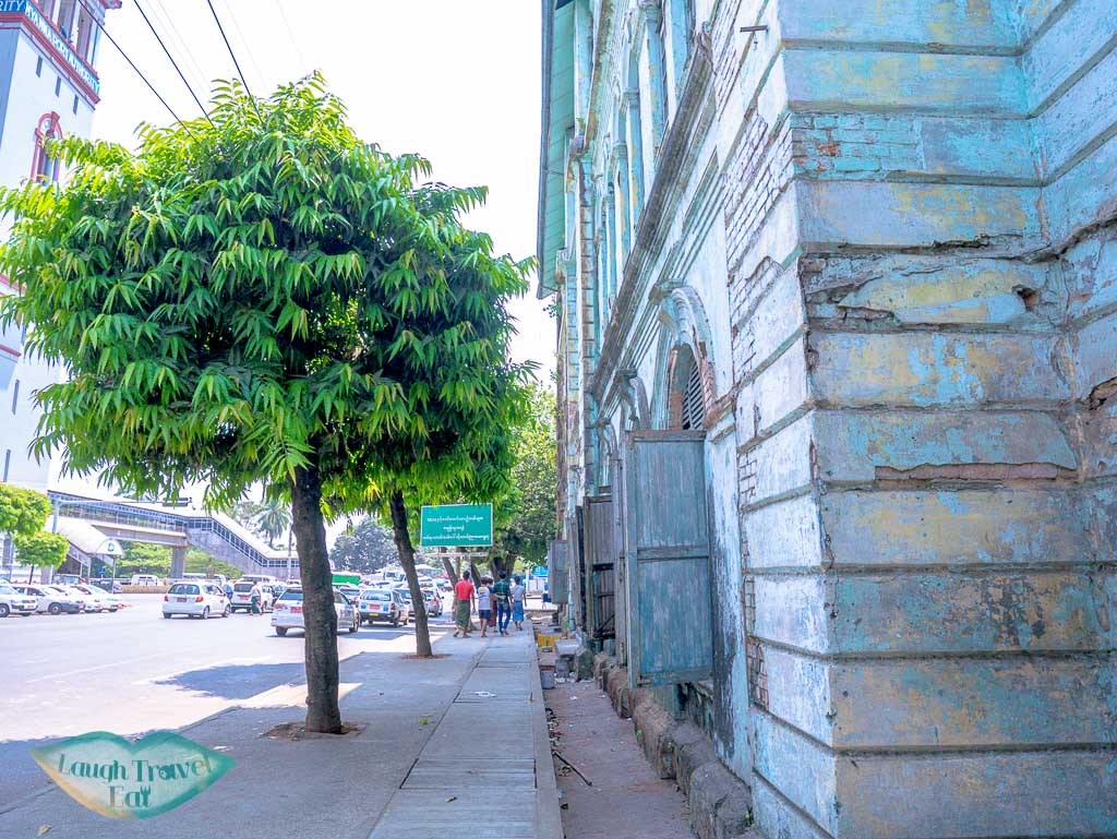 rundown-building-in-downtown-yangon-myanmar-Laugh-Travel-Eat