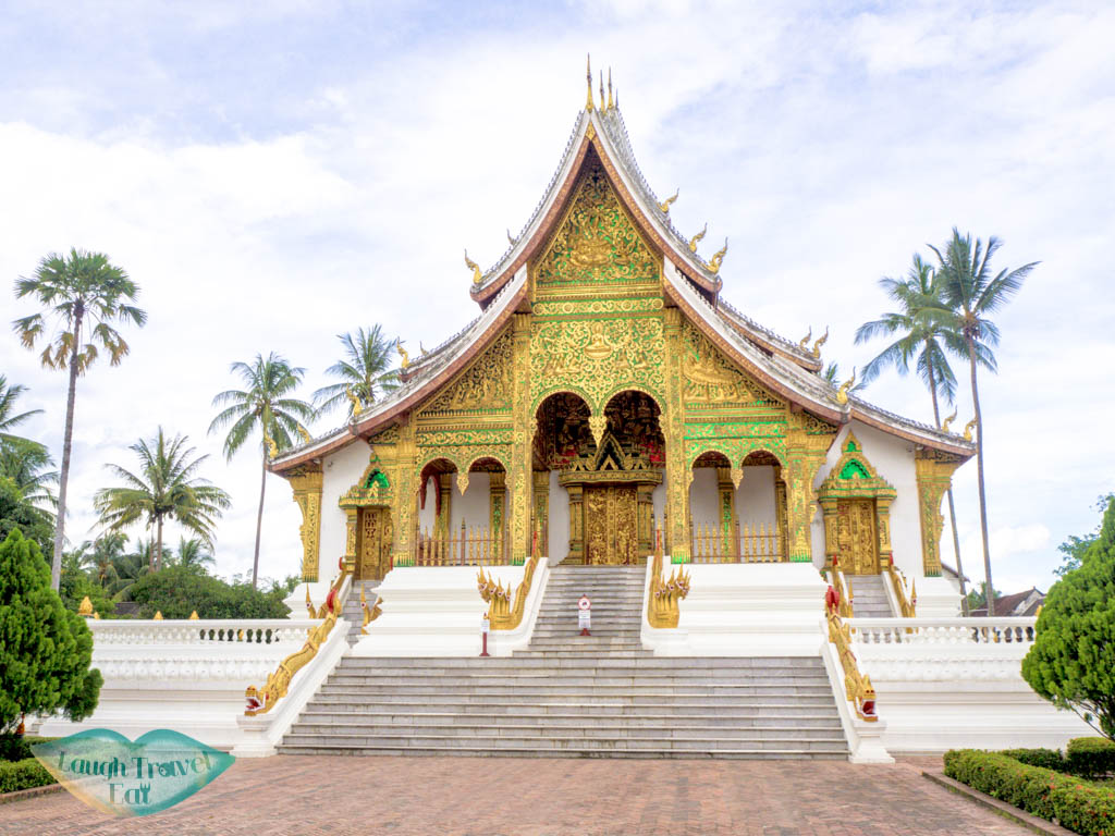 Haw Pha Bang temple luang prabang laos - laugh travel eat