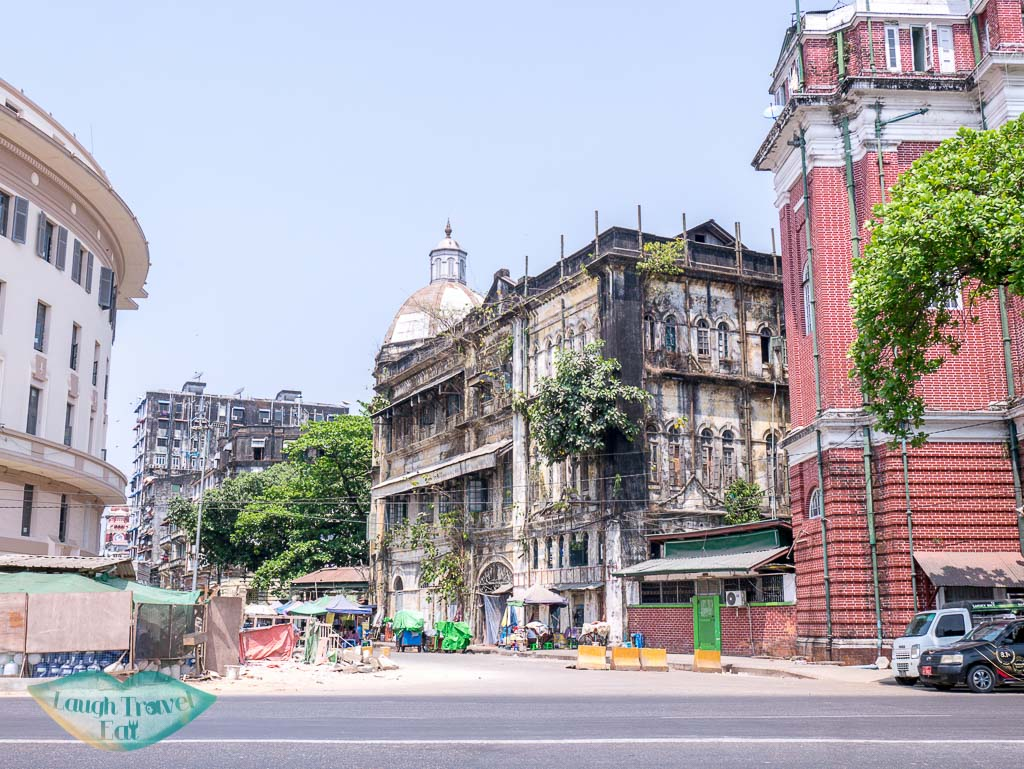 another-rundown-building-in-downtown-yangon-myanmar-Laugh-Travel-Eat