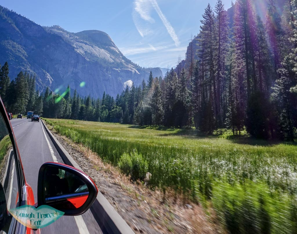 driving-to-yosemite-california-usa-laugh-travel-eat