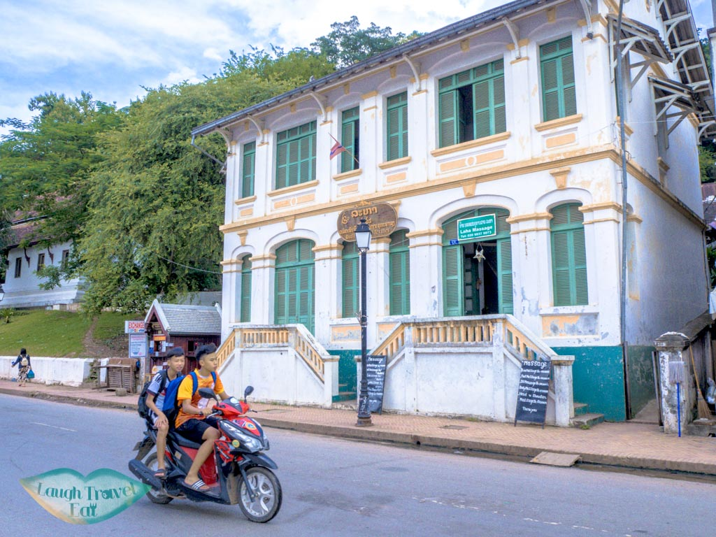 french architecture luang prabang laos - laugh travel eat