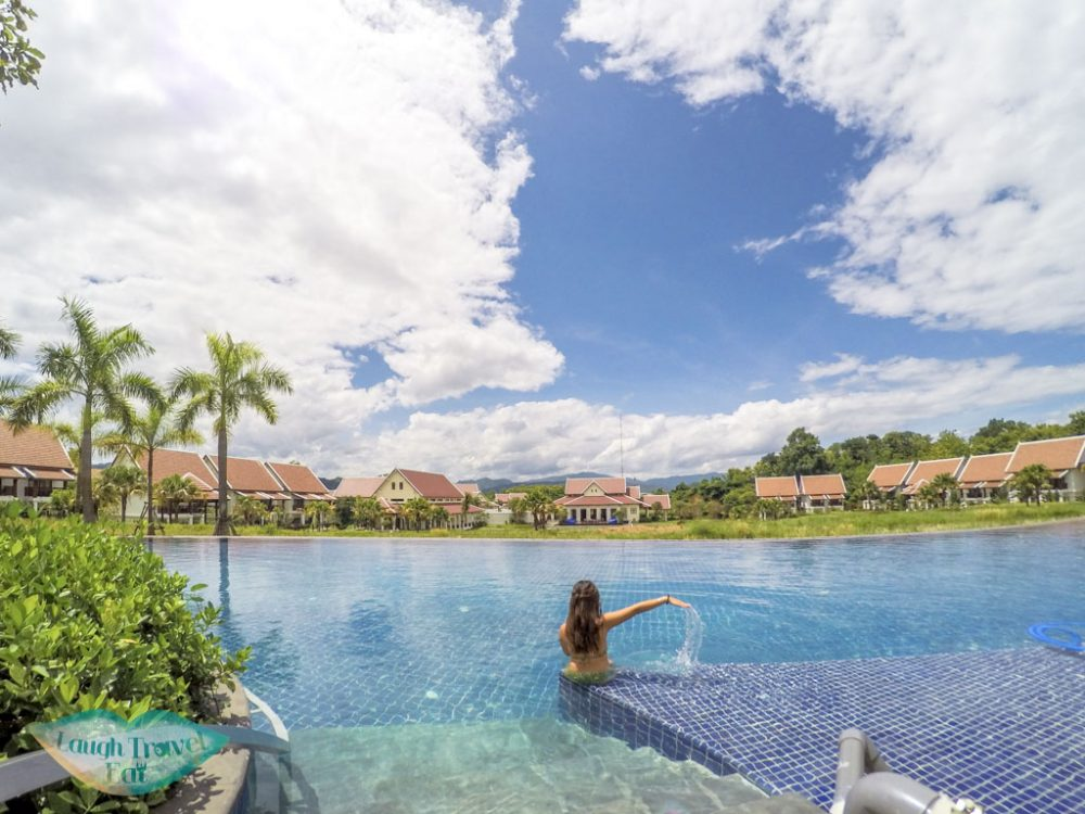 pool at pullman luang prabang laos - laugh travel eat
