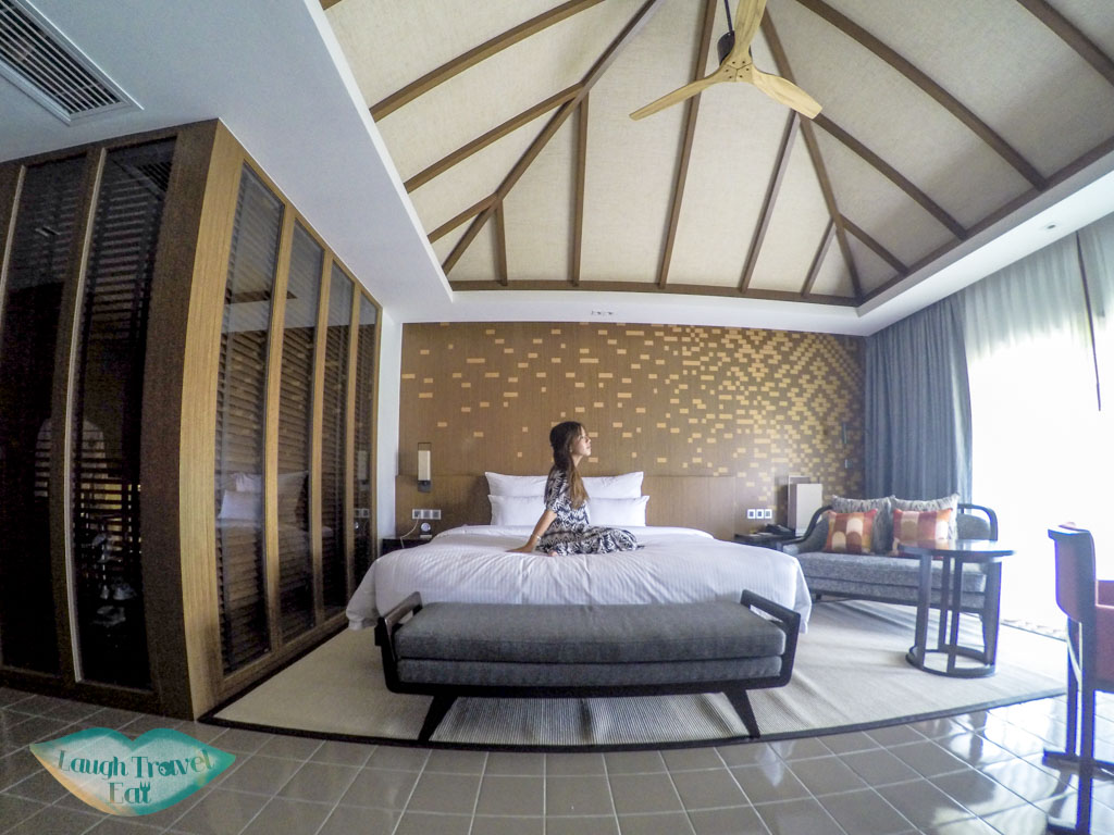 room at pullman luang prabang laos - laugh travel eat