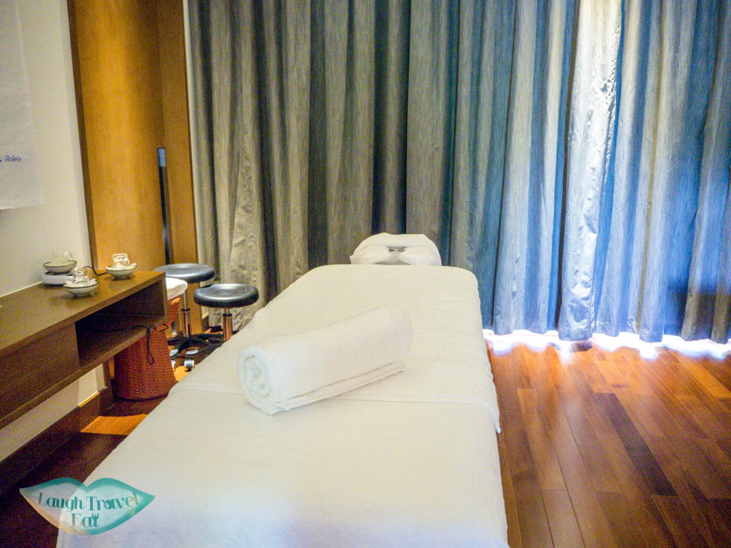 spa in pullman luang prabang laos - laugh travel eat