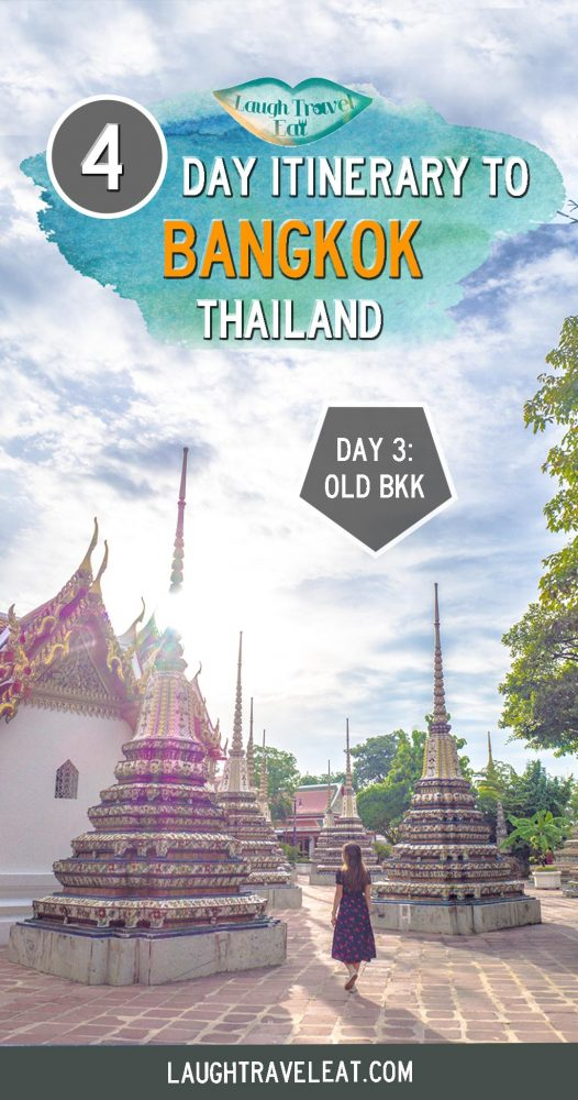 Headed to Bangkok? Here's a 4 day itinerary to the capital of Thailand including shopping, culture, and the sea #bangkok #itinerary #thailand