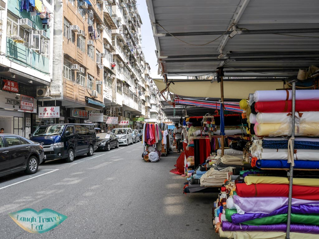 outdoor-fabric-market-Ki-Lung-street-sham-shui-po-hong-kong-laugh-travel-eat