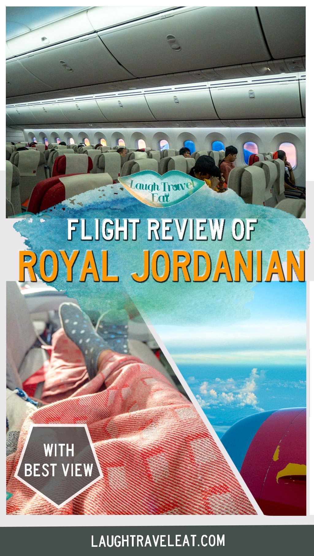 Flying with Royal Jordanian was such a pleasure that I had to write a review on it. With great meals, and huge windows, here's a review: #royaljordanian #rj #flight #review