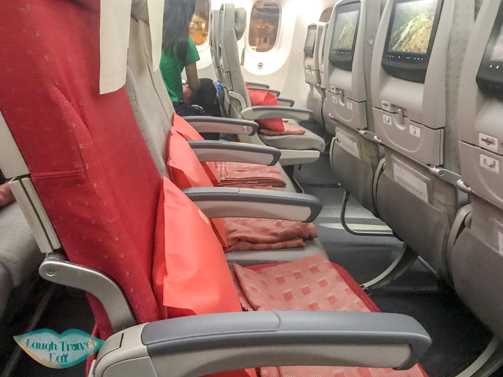 seats-with-cushion-and-blanket-Royal-Jordanian-laugh-travel-eat