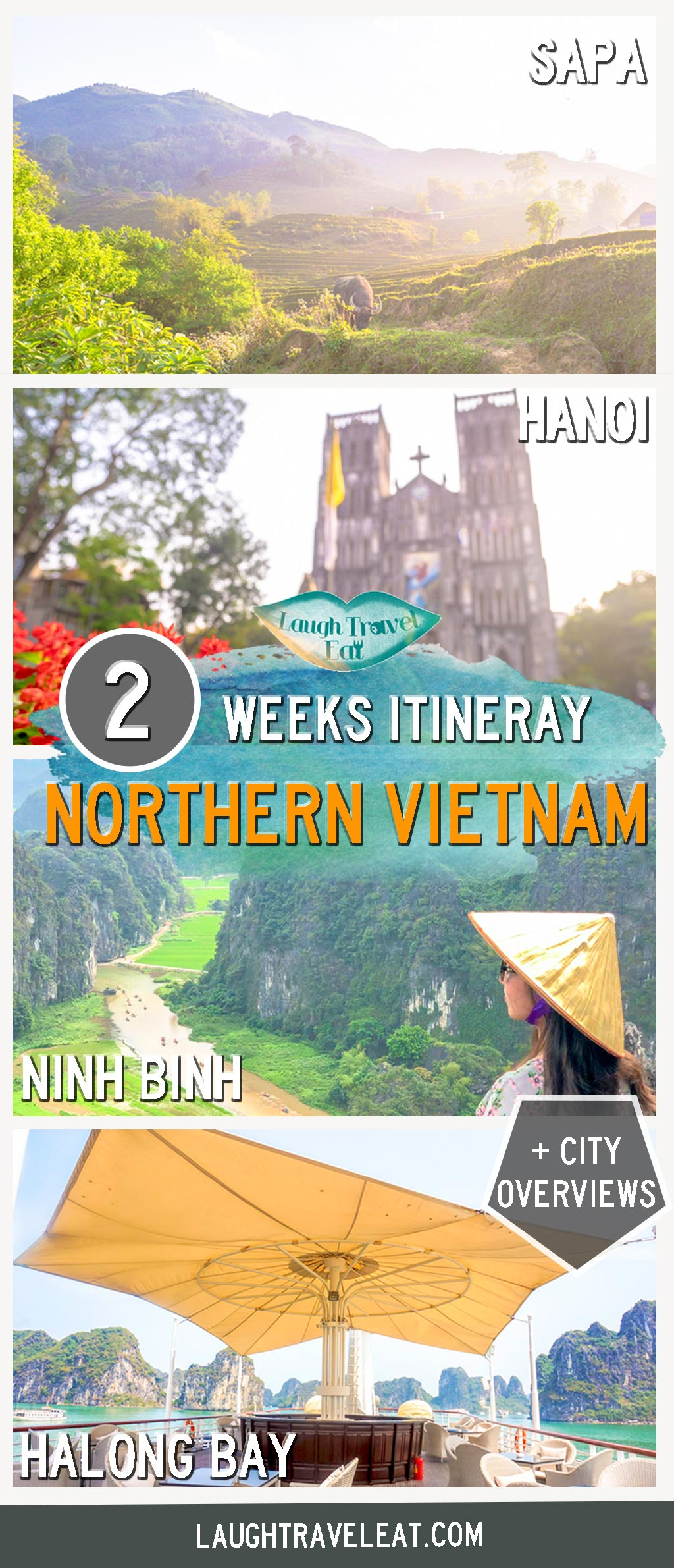 Vietnam has become a popular country to visit, whether you are on a backpacker budget or for luxury travels. When it comes to an itinerary, it can be difficult to choose between all that the country has to offer. I have travelled to Vietnam three times already for over six weeks in total, here is my 2 weeks in Vietnam suggestions: #vietnam #itinerary #2weeks
