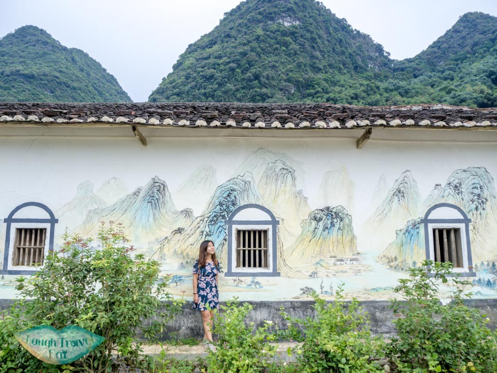 Hakka-village-wall-painting-qingyuan-china-laugh-travel-eat