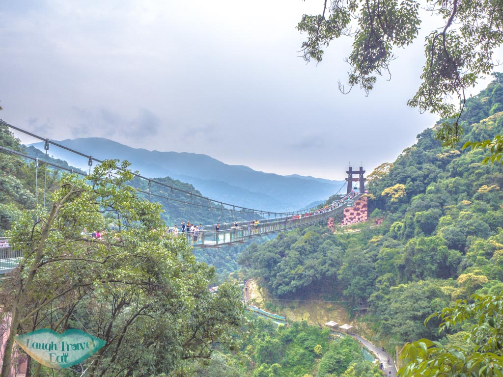 glass-suspension-bridge-ancient-dragon-canyon-qingyuan-china-laugh-travel-eat