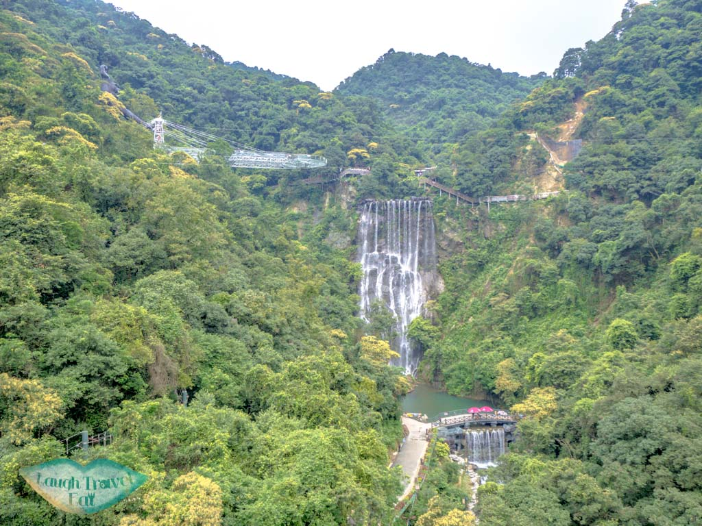 view-from-the-glass-suspension-bridge-ancient-dragon-canyon-qingyuan-china-laugh-travel-eat