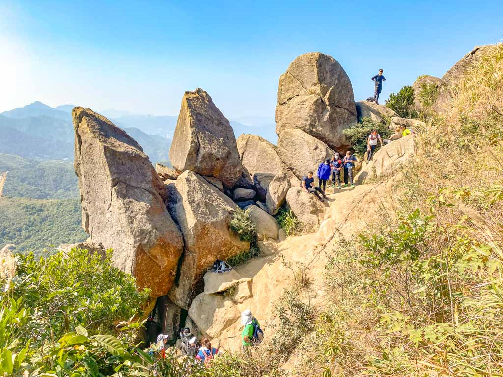 going up back up to west buffalo from rock window buffalo hills new territories hong kong - laugh travel eat