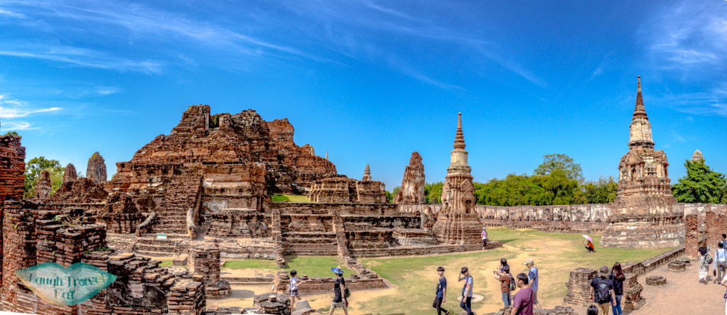 panorama-of-Wat-Mahathat-Ayutthaya-thailand-laugh-travel-eat