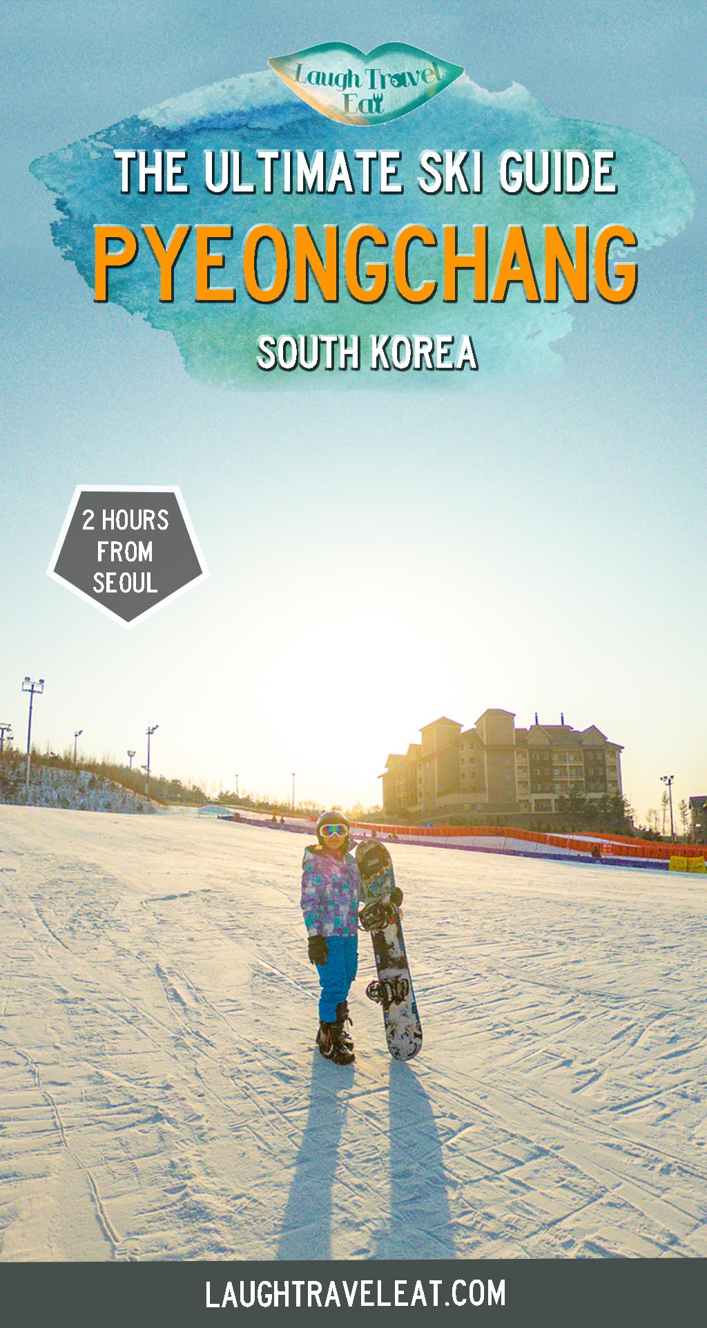 South Korea is one of the most popular ski destinations in Asia alongside Japan with the 2018 Winter Olympics being held in PyeongChang. Excited to go on my first ski trip, I ended up choosing PyeongChang and here's what it's like to winter away in a South Korea Ski Resort: #southkorea #ski #snowboard #wintertrip #pyeongchang