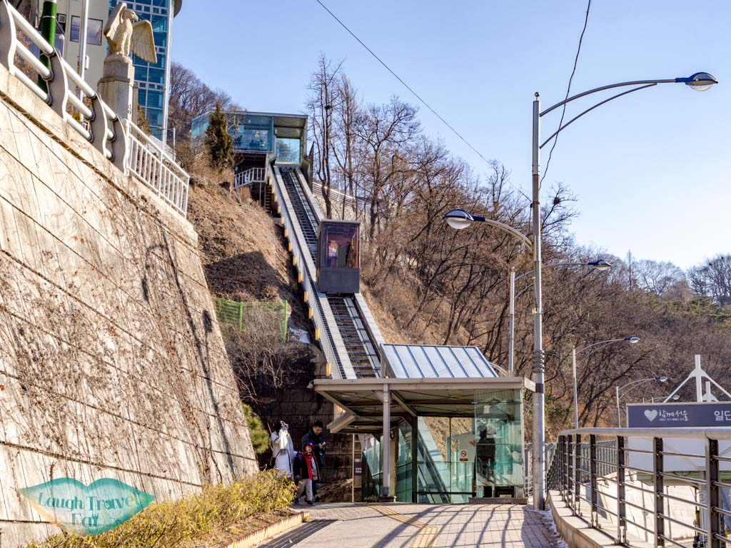 furnicular-to-cable-car-namsan-tower-seoul-south-korea-laugh-travel-eat-2