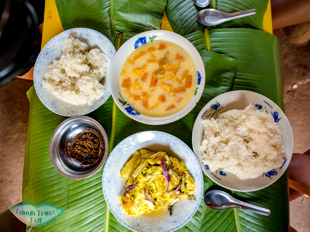 breakfast-in-homestay-na-lan-village-nam-ha-national-park-luang-namtha-laos-laugh-travel-eat