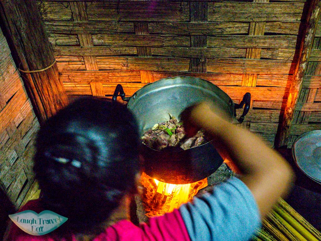 dinner-at-homestay-in-na-lan-village-nam-ha-national-park-luang-namtha-laos-laugh-travel-eat