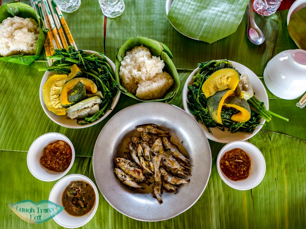 lunch-at-Phieng-Ngam-Handicraft-center-luang-namtha-laos-laugh-travel-eat