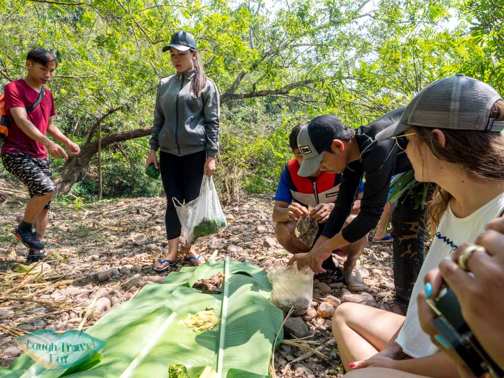 lunch-kayaking-nam-ha-national-park-luang-namtha-laos-laugh-travel-eat