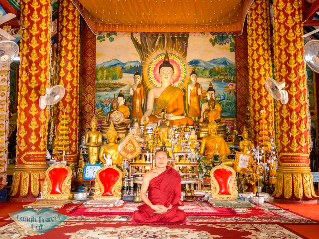 abbot-of-Wat-Chomekao-Manilat-houay-xay-laos-laugh-travel-eat