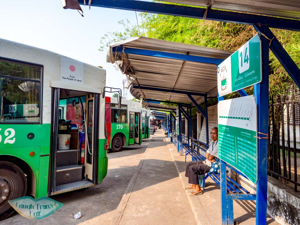 bus-14-bus-stop-vientiane-laos-laugh-travel-eat