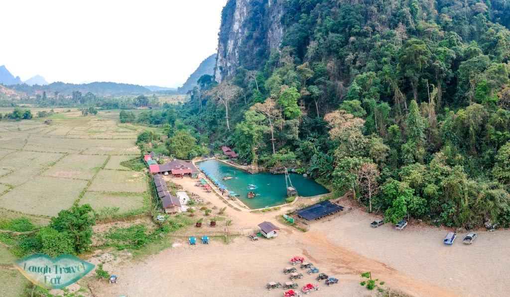 drone-shot-blue-lagoon-3-vang-vieng-laos-laugh-travel-eat