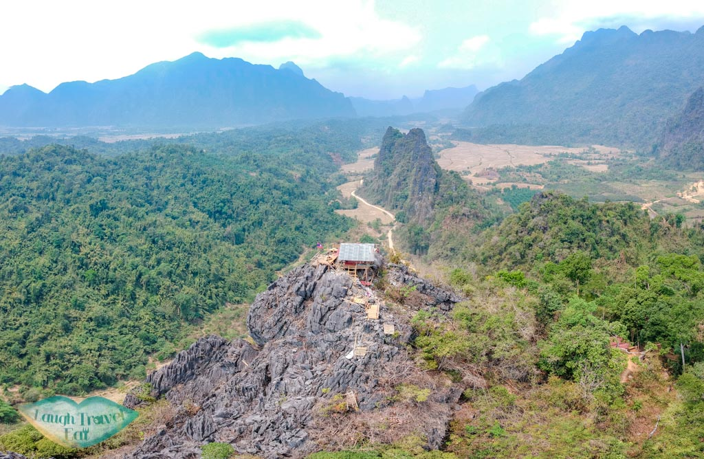 drone-shot-of-nam-xay-viewpoint-vang-vieng-laos-laugh-travel-eat