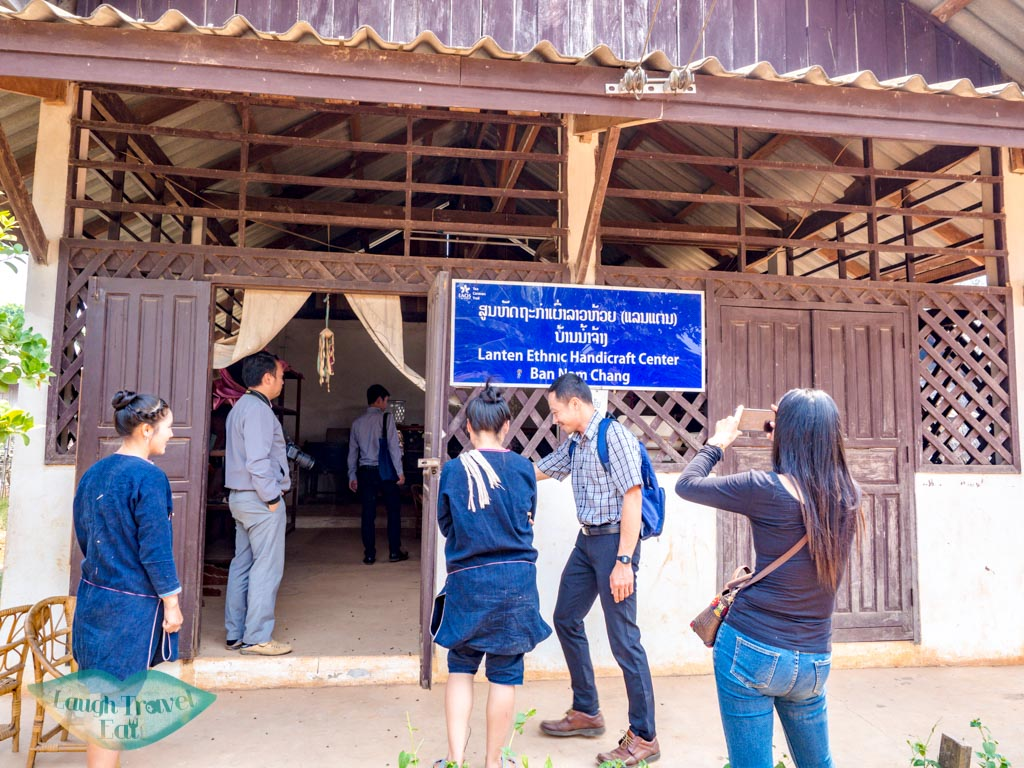 handicraft-center-Ban-Nam-Chang-houay-xay-laos-laugh-travel-eat