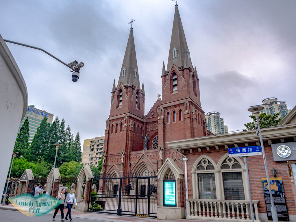 xujiahui cathedral church shanghai china