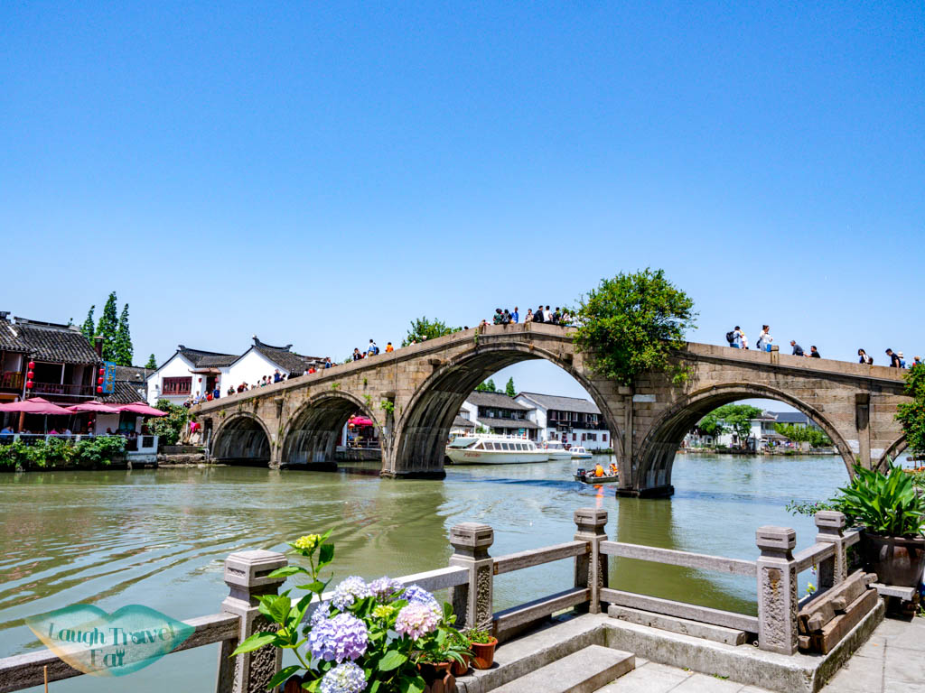 free life bridge zhujiajiao water town shanghai china