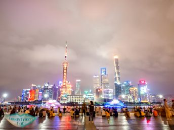 A platform with wider view of Lujiazui The Bund Shanghai China
