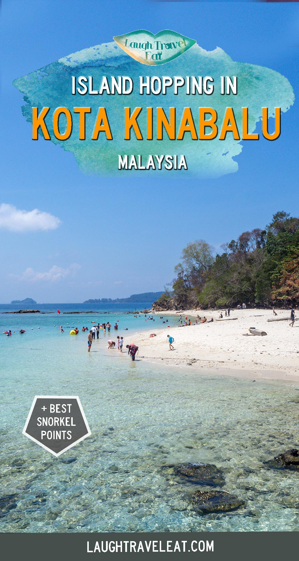 Kota Kinabalu is home to many beautiful islands and beaches, in particular those in Tunku Abdul Rahman National Park. Depending on whether you have enough time, here are the two main ways to enjoy the beaches in Kota Kinabalu: #KotaKinabalu #Sabah #Malaysia