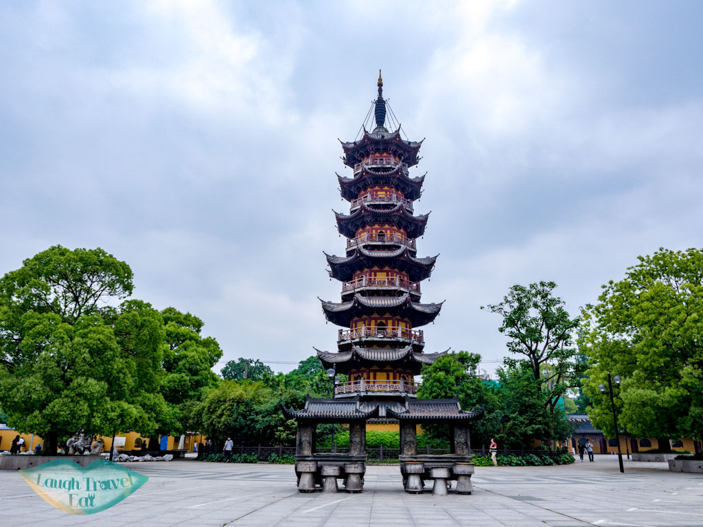 pagoda Longhua temple shanghai china
