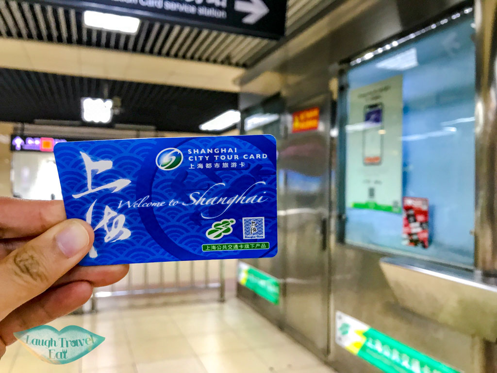metro card shanghai china - laugh travel eat
