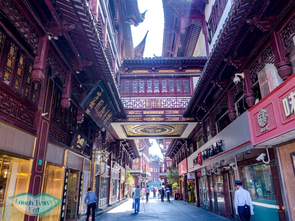 Yu garden side entrance shanghai china