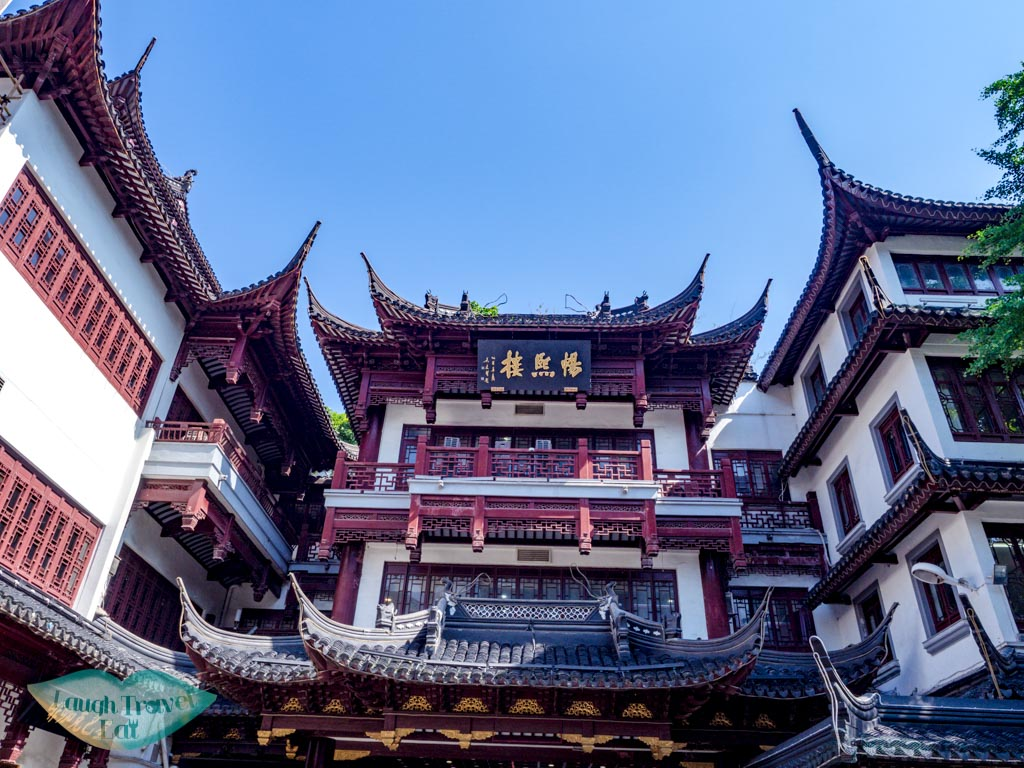architecture of yu garden shanghai china
