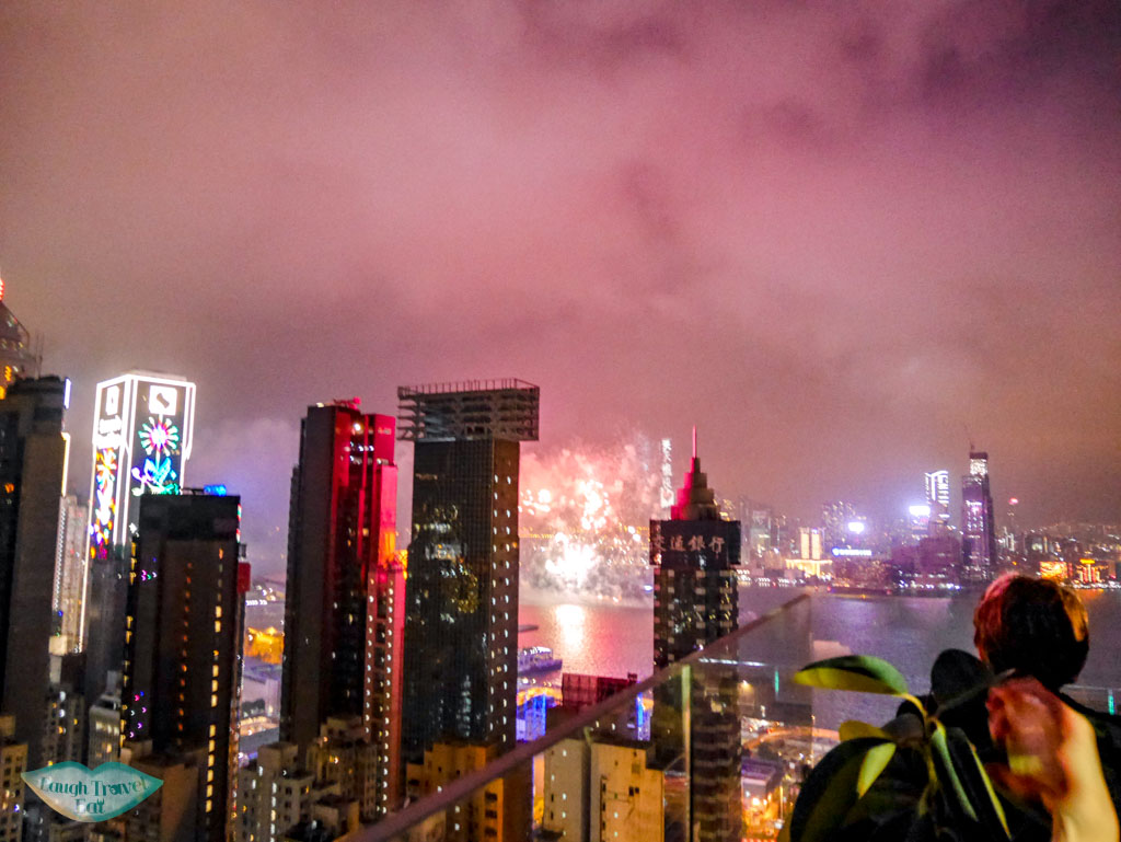 NYE on a rooftop bar in causeway bay hong kong - laugh travel eat