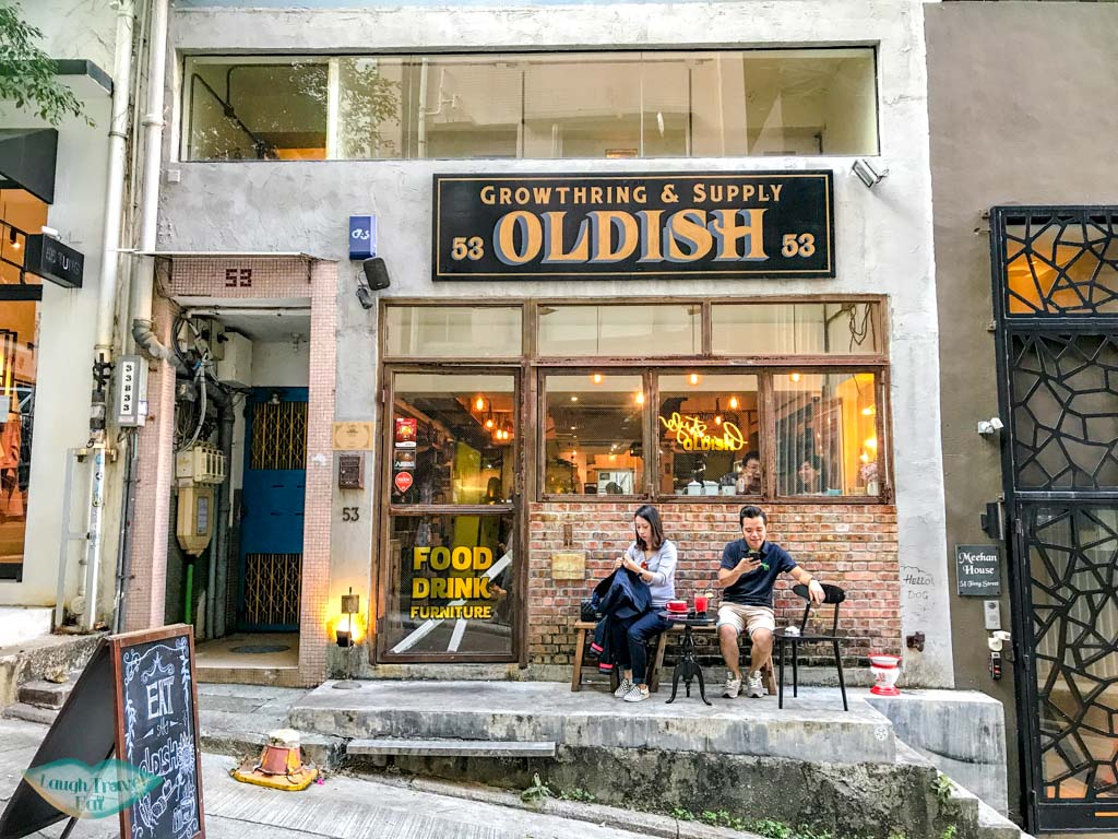 Oldish sheung wan hong kong - laugh travel eat