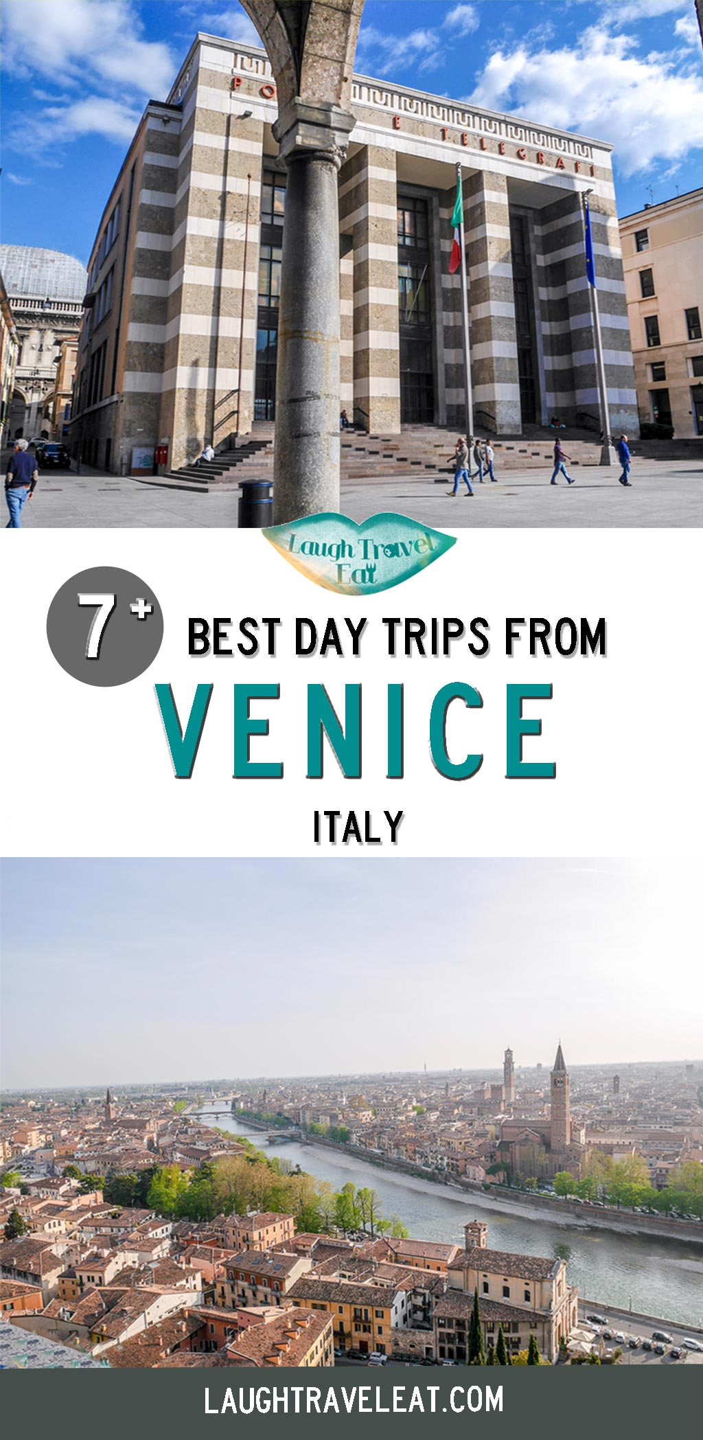 Venice is a beautiful city, no doubt. But a day trip can take you to some of Italy's best gems! Italy has an extensive train network that can whiz you away in mere minutes to a different city. Whether you have too much time on your hand or look to escape the other tourists in the gorgeous water town, here are some of my best picks under 3 hours away: #Venice #DayTrip #Italy