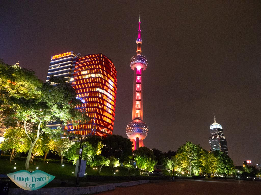 oriental pearl tower pudong shanghai china - laugh travel eat