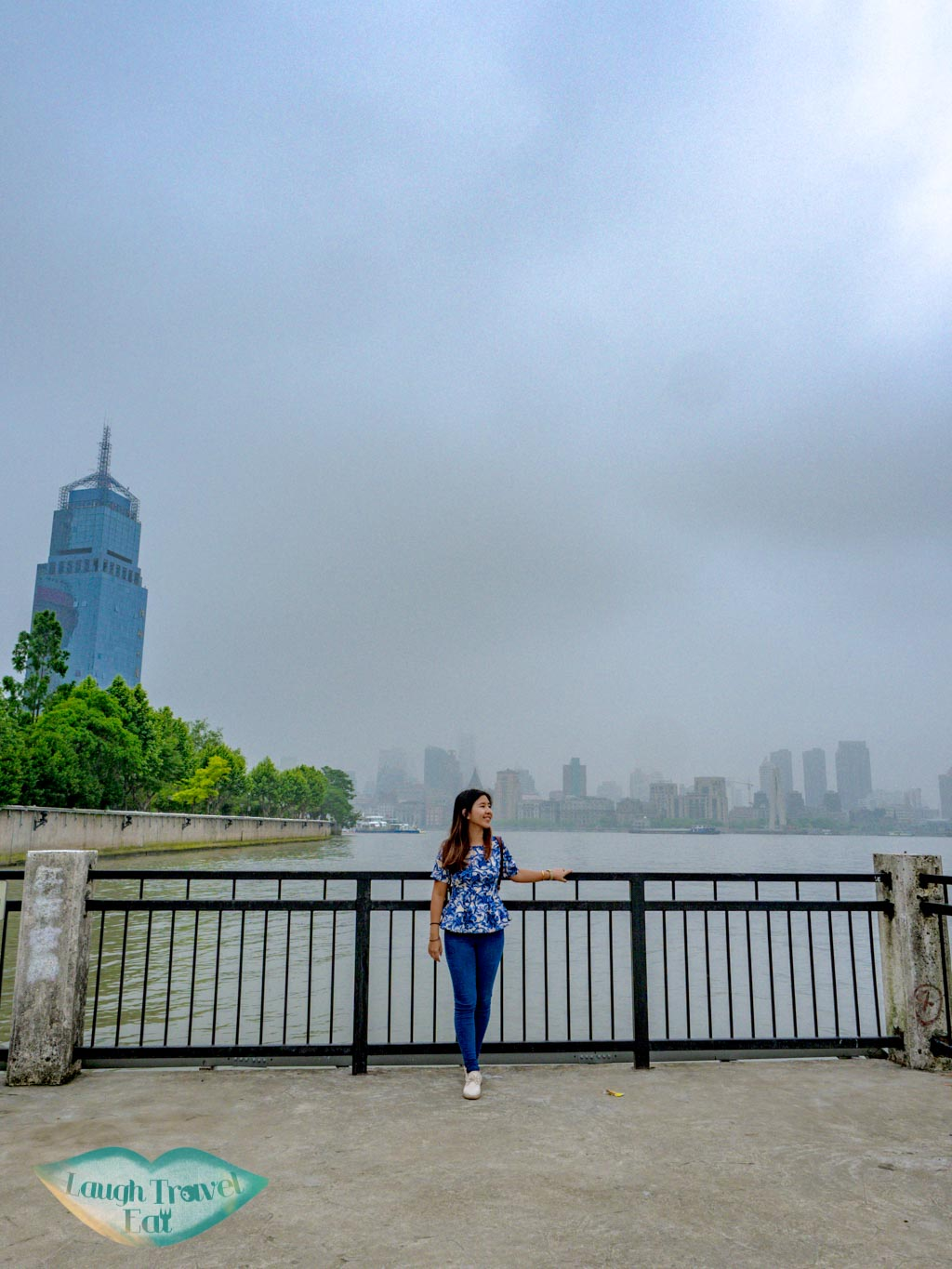 view of the bund Binjiang Avenue pudong shanghai china - laugh travel eat