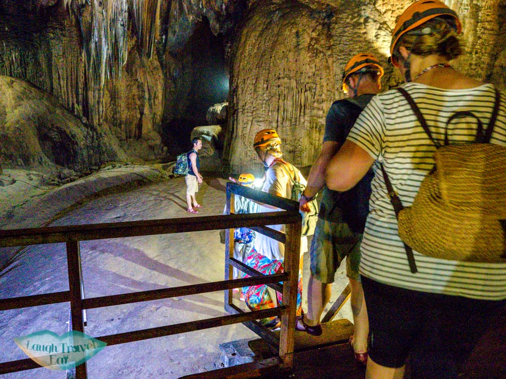 7km trek going off walkway paradise cave phong nha vietnam - laugh travel eat