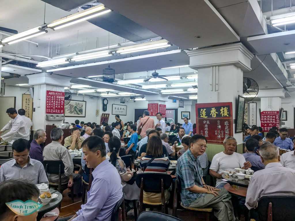 Lin Heung Tea House sheung wan hong kong - laugh travel eat